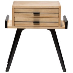 Le Petit, Two-Color Nightstand with drawers
