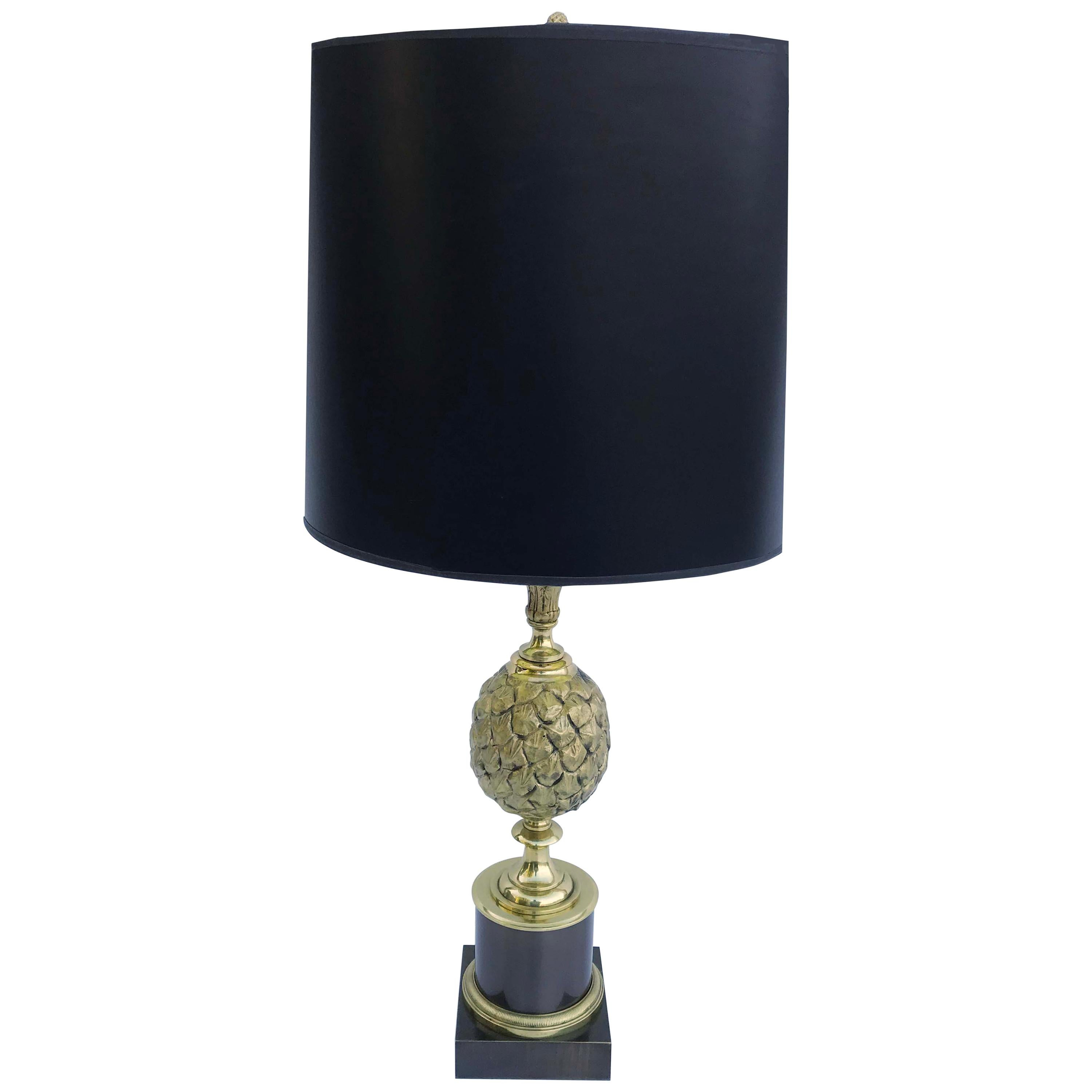 Maison Charles Pine Cone Bronze Table Lamp