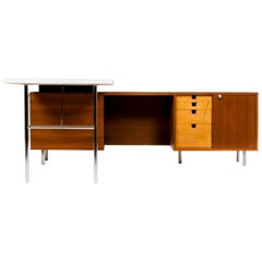 """George Nelson """"L"""" Shaped Desk"""