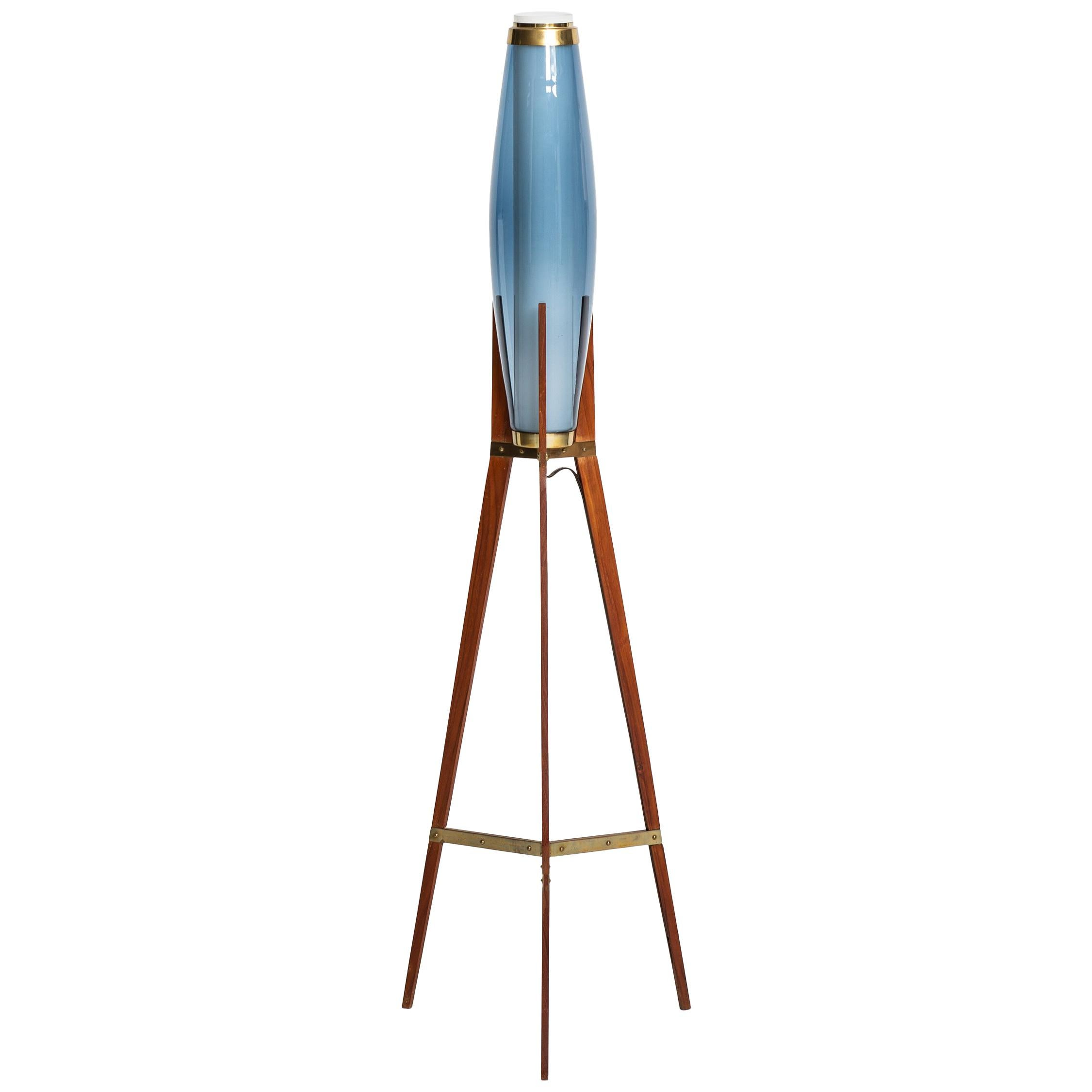 Svend Aage Holm Sørensen Floor Lamp by Holm Sørensen & Co in Denmark