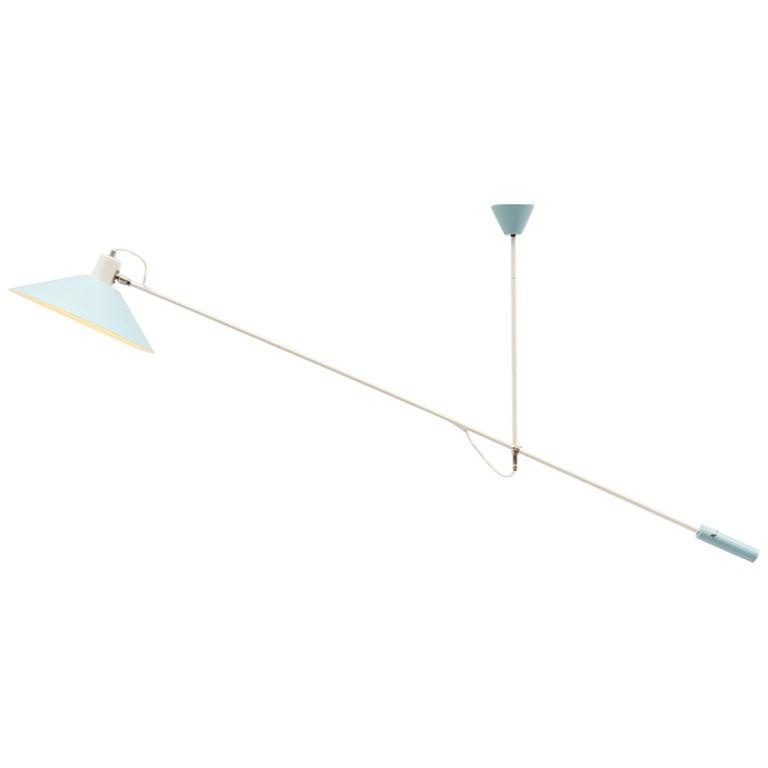JJM Hoogervorst Anvia Counter Balance Ceiling Lamp, Holland, 1955 For Sale
