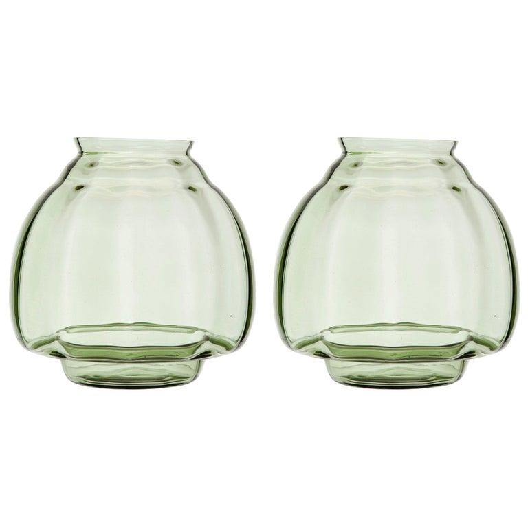 Pair of Art Deco Vases For Sale