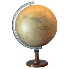 Polnish Globe Rok 1971 Fabryka Pomocy Naukowych Warszawa