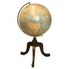 Philips' 12 Inch Terrestrial Globe, circa 1930s