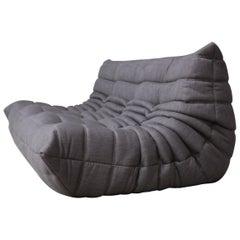 Vintage Togo Ligne Roset Re-Upholstered, Designed by Michel Ducaroy