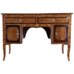Italian Flat-Top Desk, Mid-18th Century, circa 1750-1760