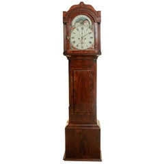 Early 19th Century Moon Phase Clock by William Cuff of Shepton Mallet
