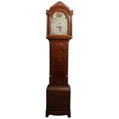 Oak Longcase Clock Commemorating the Death of Lord Horatio Nelson by Payne