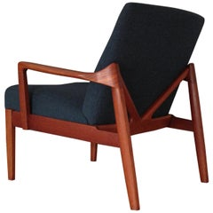 Edvard & Tove Kindt Larsen Model 125 Lounge Chair for France & Son