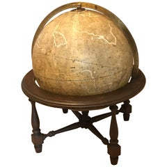 Rare Celestial Globe by Carl Adami, 1867