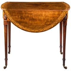 18th Century Neoclassical Pembroke Table