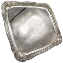 Large Silver Tray, Germany, Silver, Handcrafted