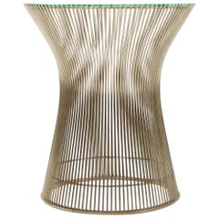1960s Nickel Side Table by Warren Platner for Knoll