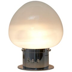 Large Italian Table Lamp with Sound Sensor