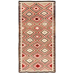 Extremely Rare Room Size Vintage Navajo Rug, circa 1930, 8'3 x 15'5