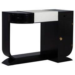 Original Vintage French Art Deco Vanity Desk
