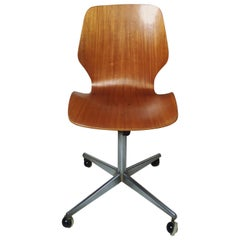 Mid-Century Modern Bentwood Desk Chair