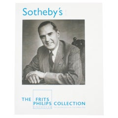 """Sotheby's The Frits Philips Collection Eindhoven 12/4/06"" Book"
