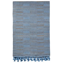 Indian Handwoven Bedcover with Tassels