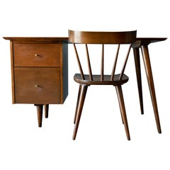 Paul McCobb Planner Group Desk and Chair, circa 1955