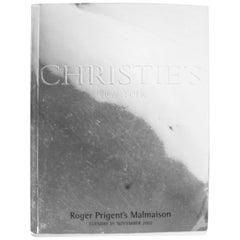 Christies New York, Roger Prigent's Malmaison, November 2002