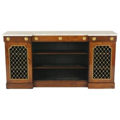 William IV Rosewood Side Cabinet, circa 1830