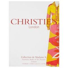 Christie's London Collection De Madame X, 3/04/04