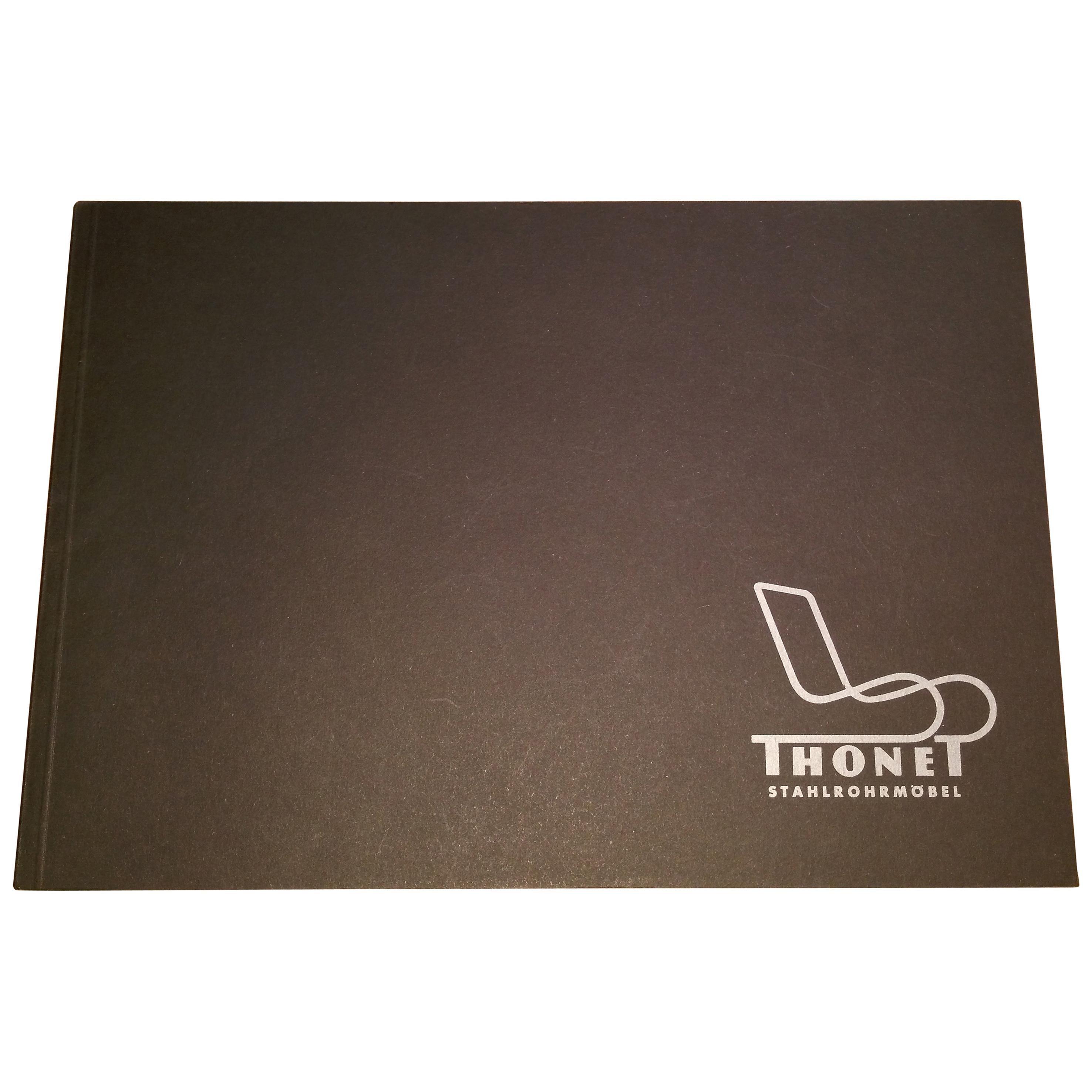 Chrome Tubular Steel Catalogue, Thonet, 1980s