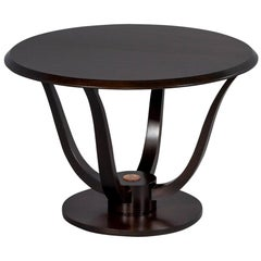 French Art Deco Round Occasional Table