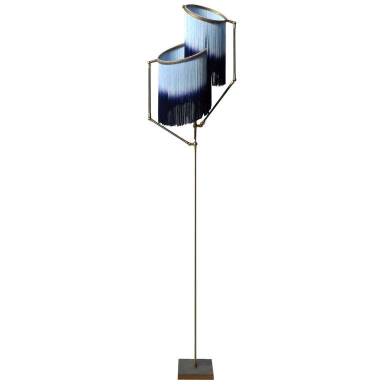 Blue Charme Floor Lamp, Sander Bottinga For Sale