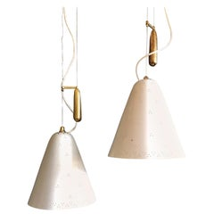 Pair of Pendants by Paavo Tynell