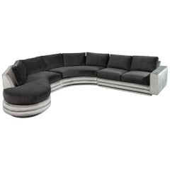 Mid-Century Modern Sectional Sofa