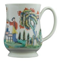 Tankard with Famille Rose Decoration, Bow C5145