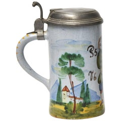 Early 19th Century German Beer Stein