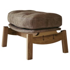 Hoop Footstool, Brazilian Wood