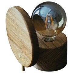 Eclipse Lamp, Brazilian Wood