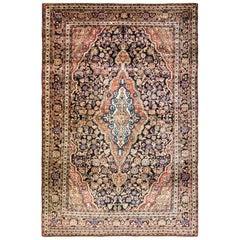 """Antique Persian Sarouk Rug, circa 1920 4'3"""" x 6'8"""""""
