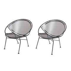 "Pair of Salterini ""Radar"" Lounge Chairs"