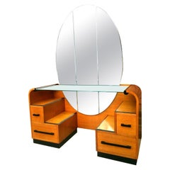 Art Deco Modernist Dressing Table, circa 1930s