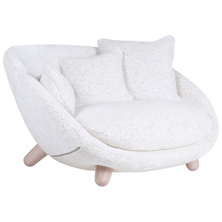 Moooi Love Sofa with Low Back in Fabric or Leather by Marcel Wanders For Sale