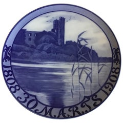Royal Copenhagen Commemorative Plate from 1908 RC-CM79