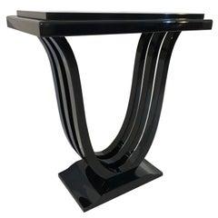 Black Console in Art Deco Style