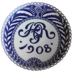 Royal Copenhagen Commemorative Plate from 1908 RC-CM83