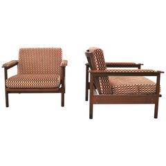 Set of 2 Midcentury Stildomus Lounge Chairs, Italy, 1960s