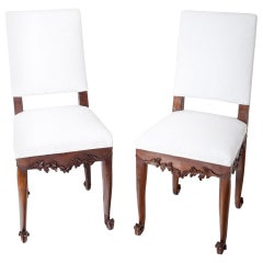 Baroque Chairs, circa 1750