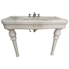 20th Century Porcelain Sink