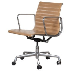 Eames Management Office Chair in cognac leather for Herman Miller USA