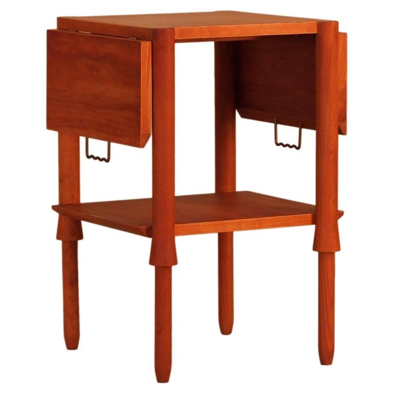 Alì Coffee Table, Made of Cherry Wood, Design Ugo La Pietra For Sale
