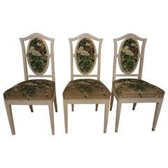 3 Art Nouveau Designer Chairs Around 1909