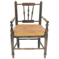 19th Century Fruit Wooden Child's Chair
